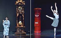 大きなのっぽの古時計・郵便ポスト
