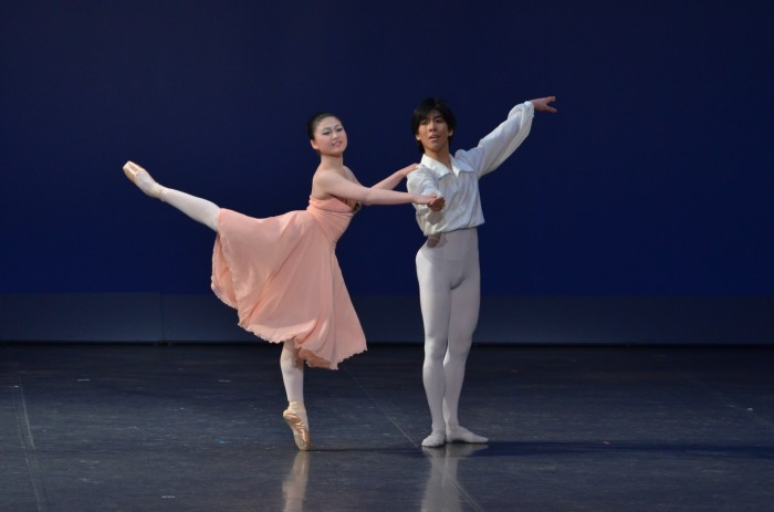 「チャイコフスキー・パ・ド・ドゥ」より<br /> グラン・パ・ド・ドゥ<br /> 小島伊織・高坂美輝(Ballet sutudio Angelique)